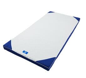 西川 NISHIKAWA 西川 横寝ケアマットレス シングルサイズ(8×97×195cm/ブルー) HC09008001 HC09008001 ブルー