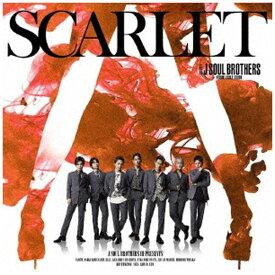 エイベックス・エンタテインメント Avex Entertainment 三代目 J SOUL BROTHERS from EXILE TRIBE/ SCARLET(DVD付)【CD】