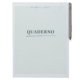 富士通 FUJITSU 電子ペーパー A4サイズ QUADERNO(クアデルノ) FMV-DPP03 アーバンホワイト