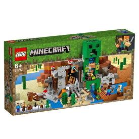 レゴジャパン LEGO 21155 マインクラフト 巨大クリーパー像の鉱山[レゴブロック]