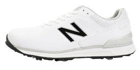 ニューバランス New Balance 25.5cm 男女兼用 ゴルフシューズMG2500(ホワイト) MG2500-WT