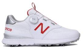 ニューバランス New Balance レディース ゴルフシューズ WGB574V2(24.5cm/ホワイト×レッド)WGB574V2_R2