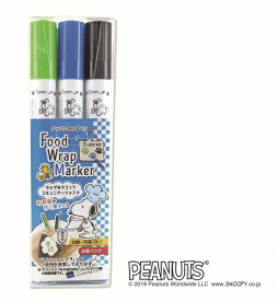 エポックケミカル EPOCH Chemical スヌーピー ラップにかけるペン 3本セット C (LGR/BL/BK) 671-0600[6710600]