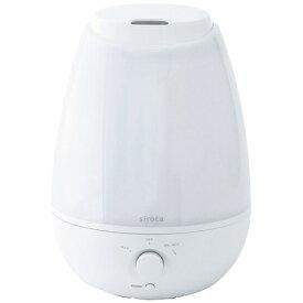 siroca シロカ SRD-BK801-W LED加湿器 ホワイト [超音波式 /4L][SRDBK801W]【point_rb】