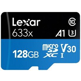 レキサー Lexar microSDXCカード High-Performance(ハイパフォーマンス) 633x LSDMI128BB1JP633A [Class10 /128GB][LSDMI128BB1JP633A]