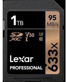 LEXAR SDXCカード UHS-I Professional 633x LSD1TCBJP633 [1TB /Class10][LSD1TCBJP633]