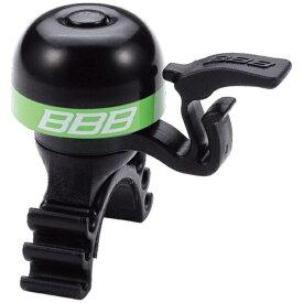 BBB ビービービー サイクルパーツ ベル ミニフィット ブラック/グリーン サイクルパーツ-16 015033