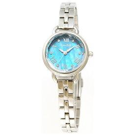ルビンローザ Rubin Rosa レディース腕時計 ソーラー充電式 R019 R019SOLSBL ブルーxシルバー [正規品]