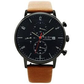 フルボ メンズ腕時計 ソーラー充電式 クロノグラフ F761 F761-GBKLB ブラックxライトブラウン