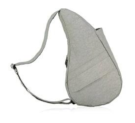 Healthy Back Bag ヘルシーバックバッグ 男女兼用 ボディバッグ テクスチャードナイロン(Sサイズ:6L/フロストグレー)6303【マグネットポケット&大容量ジッパーポケット追加タイプ】