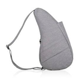Healthy Back Bag ヘルシーバックバッグ 男女兼用 ボディバッグ テクスチャードナイロン(Sサイズ:6L/ぺブルグレー)6303【マグネットポケット&大容量ジッパーポケット追加タイプ】