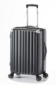 A.L.I アジア・ラゲージ スーツケース ハードキャリー 47L カーボンブラック ALI-6008-22 [TSAロック搭載]