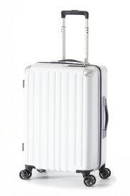 A.L.I アジア・ラゲージ スーツケース ハードキャリー 47L ホワイト ALI-6008-22 [TSAロック搭載]