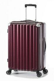 A.L.I アジア・ラゲージ スーツケース ハードキャリー 66L カーボンワイン ALI-6008-24 [TSAロック搭載]