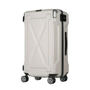 レジェンドウォーカー LEGEND WALKER 防水仕様スーツケース 87L OUTDOOR(アウトドア) アイボリー 6304-72-IV [TSAロック搭載]