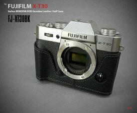 リムズ LIM'S 富士フィルム X-T30用ケース FJ-XT30BK ブラック