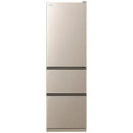 日立 HITACHI 《基本設置料金セット》R-V32KV-N 冷蔵庫 Vタイプ シャンパン [3ドア /右開きタイプ /315L][冷蔵庫 大型 RV32KV]【zero_emi】