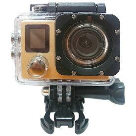 RM RM-2937GD アクションカメラ ゴールド [4K対応 /防水][RM2937GD]