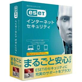 キヤノンITソリューションズ Canon IT Solutions ESET インターネット セキュリティ まるごと安心パック 3台3年[セキュリティソフト 3年 CMJES12104]