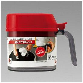 レック LEC kitchenex 油ひきポット レッド K-398 レッド[K398]