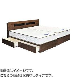 東京ベッド TOKYO BED 【フレームのみ】収納なし キャビネットタイプ ターナ(セミダブルサイズ) 【代金引換配送不可】