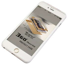 JESTTAX iPhone6/6s Plus クリア両面ケース ガラスフィルム付