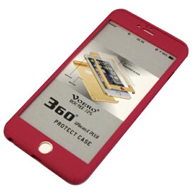 JESTTAX iPhone6/6s Plus クリア両面ケース ガラスフィルム付 IPC-60PK ピンク