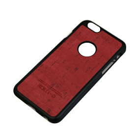 JESTTAX iPhone6/6s (4.7) 木目調ハードケース IPC-64RD レッド