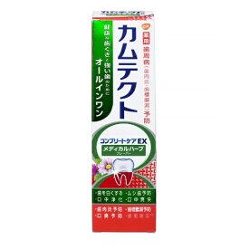 アース製薬 Earth カムテクト 歯磨き粉 コンプリートケアEX メディカルハーブフレーバー 105g
