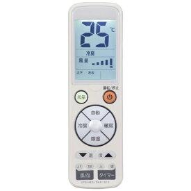 オーム電機 OHM ELECTRIC エアコン用リモコン ホワイト OAR-N12