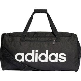 アディダス adidas ジム・トレーニング スポーツバッグ エッセンシャルズ リニアチームバッグM(22cm×56cm×28cm/41.5L/ブラック×ブラック×ホワイト)FSW93 DT4819