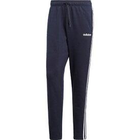 アディダス adidas メンズ ライフスタイル パンツ 3ストライプス スウェットテーパードパンツ 裏毛(Oサイズ/レジェンドインク×ホワイト)FSG26 DU0460