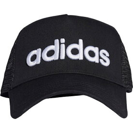 アディダス adidas キャップ エッセンシャルズ ライフスタイル リニアトラッカーキャップ(/ブラック×ブラック×ホワイト)GDJ09 ED0316