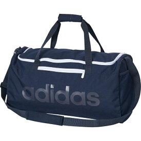 アディダス adidas ジム・トレーニング スポーツバッグ エッセンシャルズ リニアチームバッグM(22cm×56cm×28cm/41.5L/ネイビー)FSW93 ED0229