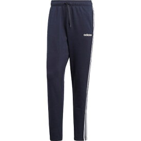 アディダス adidas メンズ ライフスタイル パンツ 3ストライプス スウェットテーパードパンツ 裏毛(Lサイズ/レジェンドインク×ホワイト)FSG26 DU0460