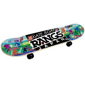 ラングスジャパン RANGS JAPAN R1スケートボード ホワイト