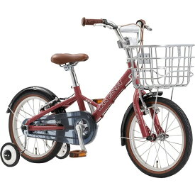 ルイガノ 16型 子供用自転車 K16 plus 220mm(TERRA COTTA ROSE/シングルシフト)【組立商品につき返品不可】 【代金引換配送不可】