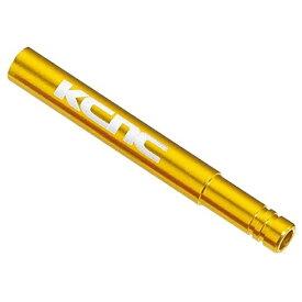 KCNC ケーシーエヌシー チューブ バルブエクステンション 50mm ゴールド 760059