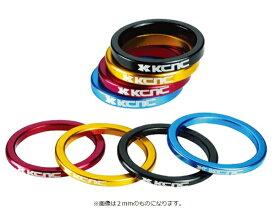 KCNC ケーシーエヌシー ヘッドセットパーツ スペーサー OS 5mm ブラック 506243