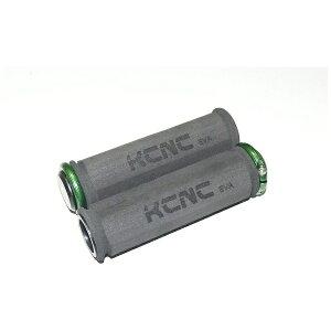 KCNC ケーシーエヌシー グリップ EVA ロックオン グリップ+グリーン ロックリング 441103