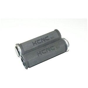 KCNC ケーシーエヌシー グリップ EVA ロックオン グリップ+シルバー ロックリング 441105