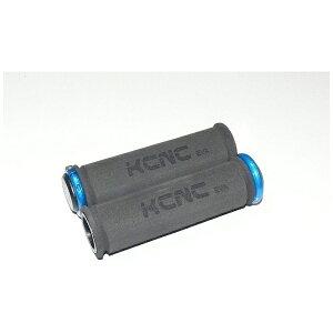 KCNC ケーシーエヌシー グリップ EVA ロックオン グリップ+ブルー ロックリング 441101