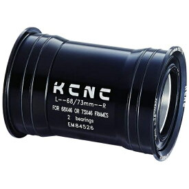 KCNC ケーシーエヌシー BBセット プレスフィット BB30 68/73mm スラム PF30BBシェル用 ブラック 263470