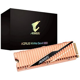 GIGABYTE ギガバイト GIGABYTE AORUS NVMe Gen4 SSD M.2 500GB [M.2 /500GB]