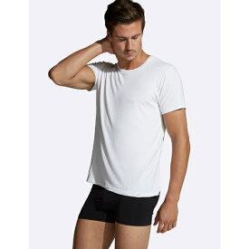 BOODY ブーディ メンズウェア メンズ クルーネック Tシャツ(ホワイト/Mサイズ) CMWHMM