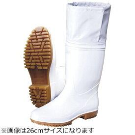 弘進ゴム KOHSHIN RUBBER 弘進 ゾナ G5 カバー付白長靴 26.5cm <SNG4208>[SNG4208]