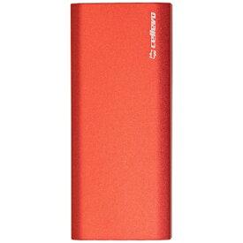 CELLEVO セレボ モバイルバッテリー 8000 Square C レッド CSC8000B-RD [8000mAh /2ポート /充電タイプ]