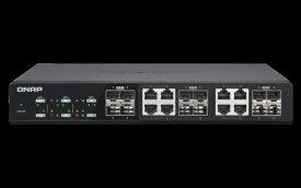 QNAP QNAP 10GbEスイッチ QSW-1208-8C QSW-1208-8C[QSW12088C]