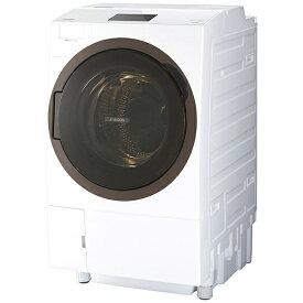 東芝 TOSHIBA TW-127X8BKL-W ドラム式洗濯乾燥機 ZABOON(ザブーン) グランホワイト [洗濯12.0kg /乾燥7.0kg /ヒートポンプ乾燥 /左開き][洗濯機 12kg TW127X8BKLW]【point_rb】