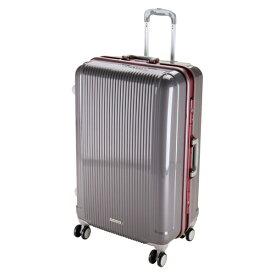 キャプテンスタッグ CAPTAIN STAG グレル トラベルスーツケース:TSAロック付ハードフレームタイプ(L/スチールグレー) UV-7